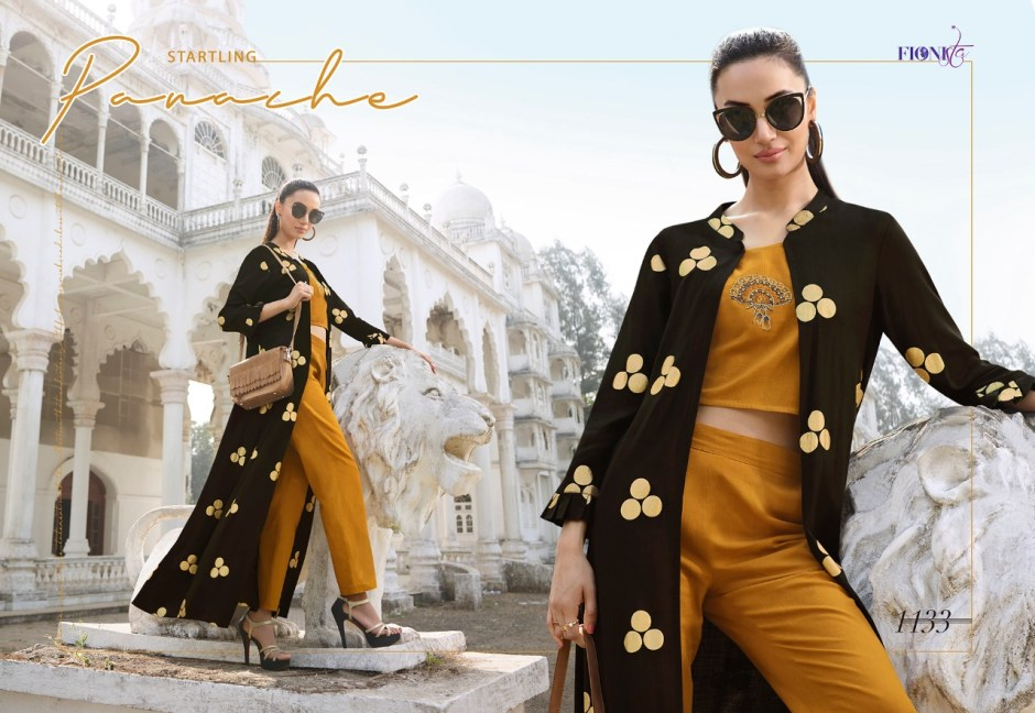 fionista redefining trends colorful designer collection of outfits