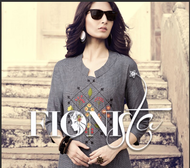 fionista shopper stop vol 2 fancy collection of kurtis at wholesale rate