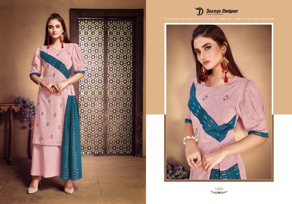 jaanya designer chandni colorful fancy collection of salwaar suits