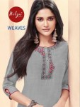 Lt nitya weaves colourful elegant daily wear casual kurties collection at wholesale rate