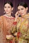 mumtaz arts bunaai colorful designer salwaar suits colllection