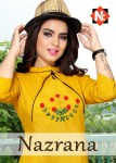 neeti nazrana beautiful fancy kurtis colllection at reasonable rate