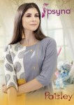 psyna paisley colorful casual wear kurtis collection