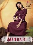 rang berry sundari fancy casual wear kurtis catalog at reasonable rate