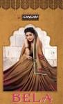 sangam prints bela colorful fancy casual wear sarees catalog at wholesale rate