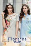 sinzara floraine colorful casual wear kurtis catalog