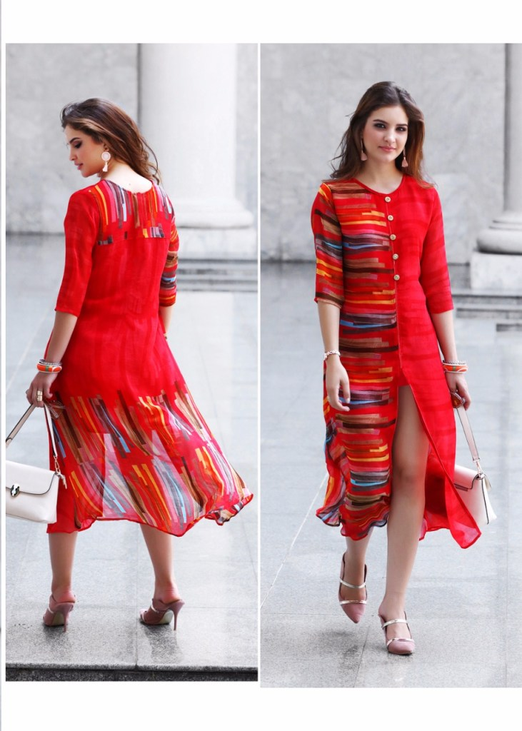 sparrow kumb shine beautiful casual wear kurtis collection at reasonable rate