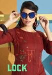 sweety fashion lock colorful casual wear kurtis catalog at reasonable rate