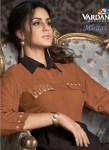 vardan designer miraaz vol 1 colorful kurtis catalog at reasonable rate