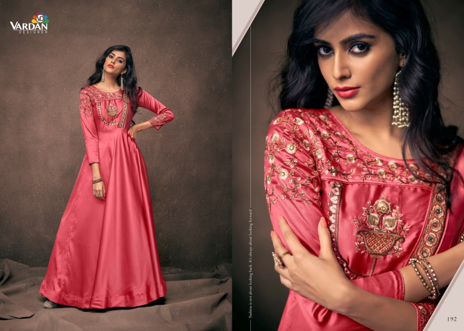 vardan designer navya vol 10 colorful desginer outfit collection