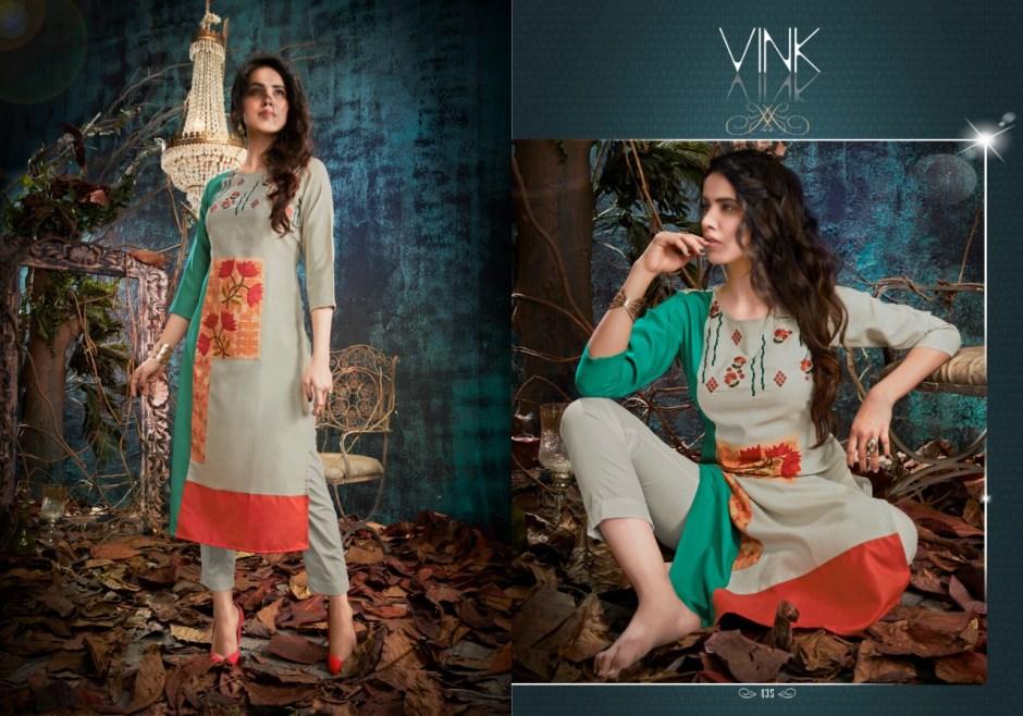 vink nova beautiful fancy kurtis collection at reasonable rate