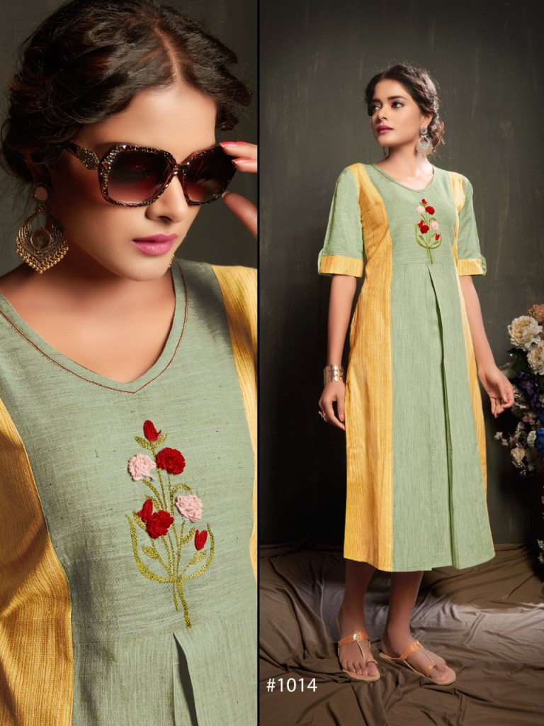 7 beauty reetee colorful casual wear kurtis catalog at reasonable rate