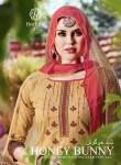 hotline honey bunny vol  3 colorful fancy salwaar suits catalog at reasonable rate