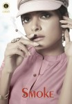 kalki fashion smoke colorful kurtis catalog at reasonable rate