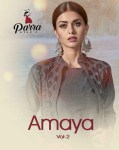 parra studio amaya vol 2 designer ready to wear kurtis collection at reasonable rate