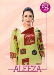 posh aleeza colorful fancy collection of kurtis at reasonable rate