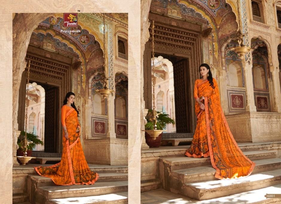 priya paridhi ahiri colorful fancy collection of sarees