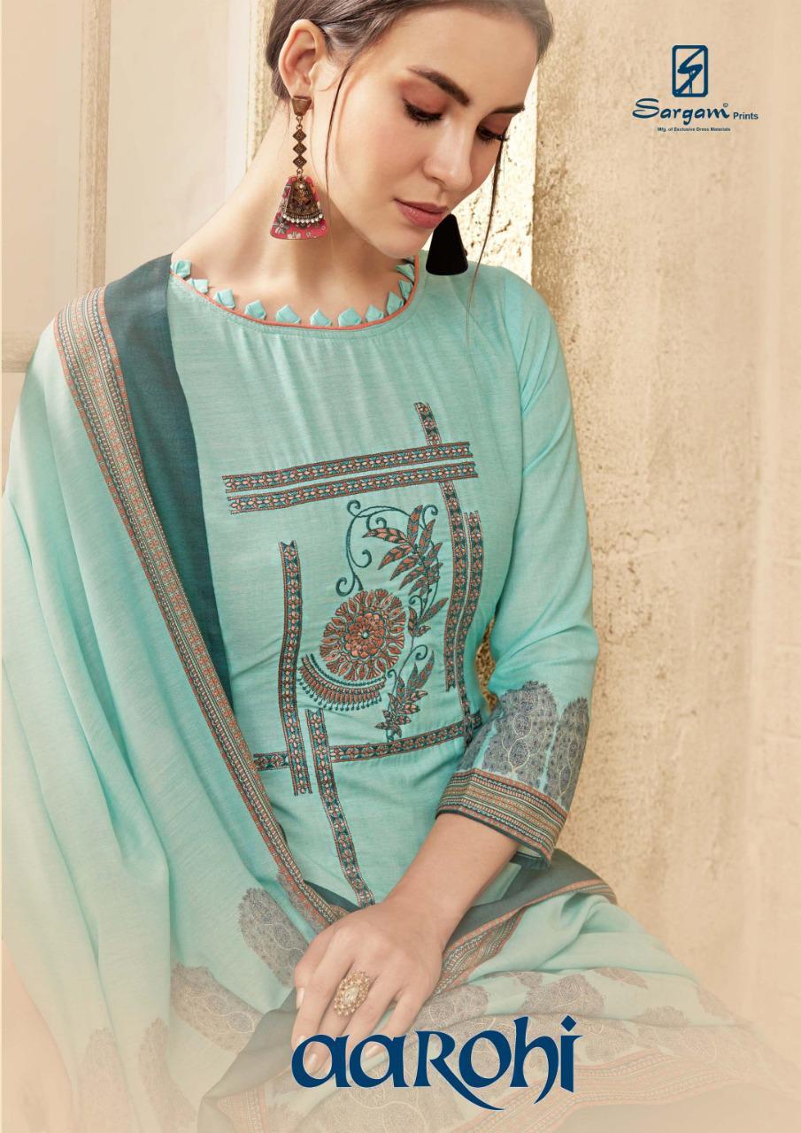 sargam prints aarohi colorful fancy salwaar kameez collection