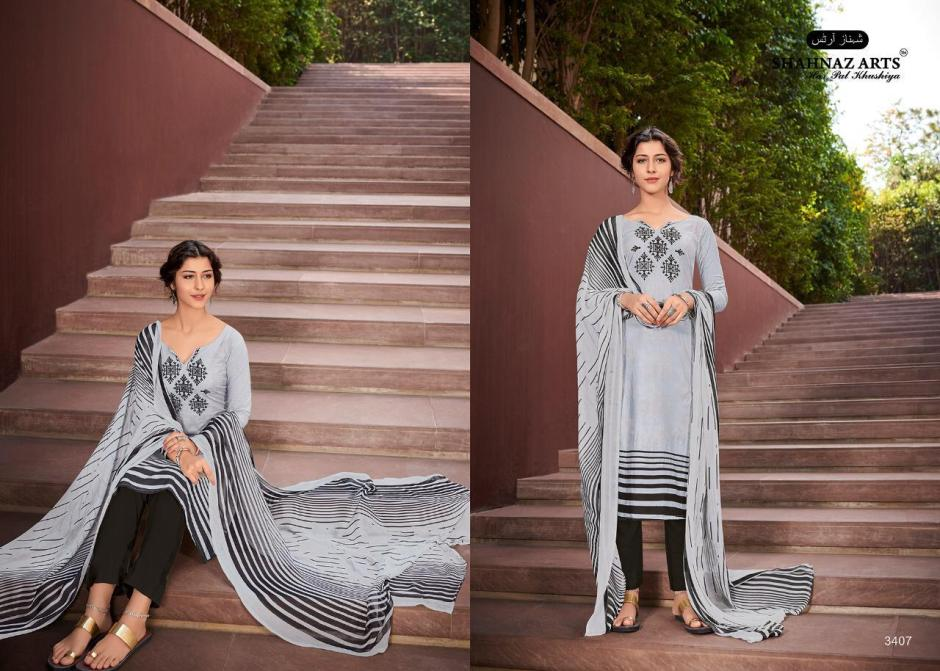 shahnaz arts afsara fancy collection of salwaar suits at reasonable rate