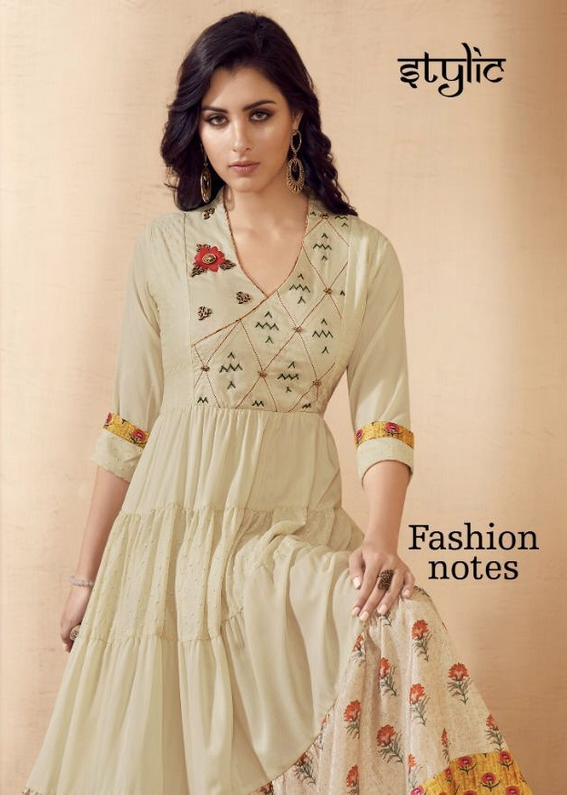 stylic fashion notes beautiful ready to wear kurtis collection