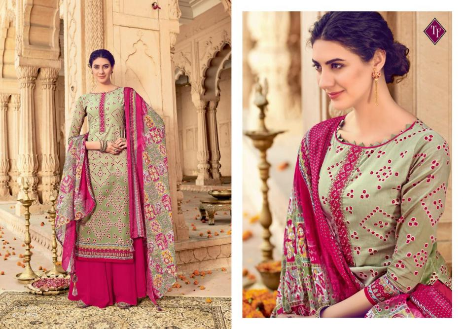 taniksh fashion satrang colorful fancy collection of salwaar suits