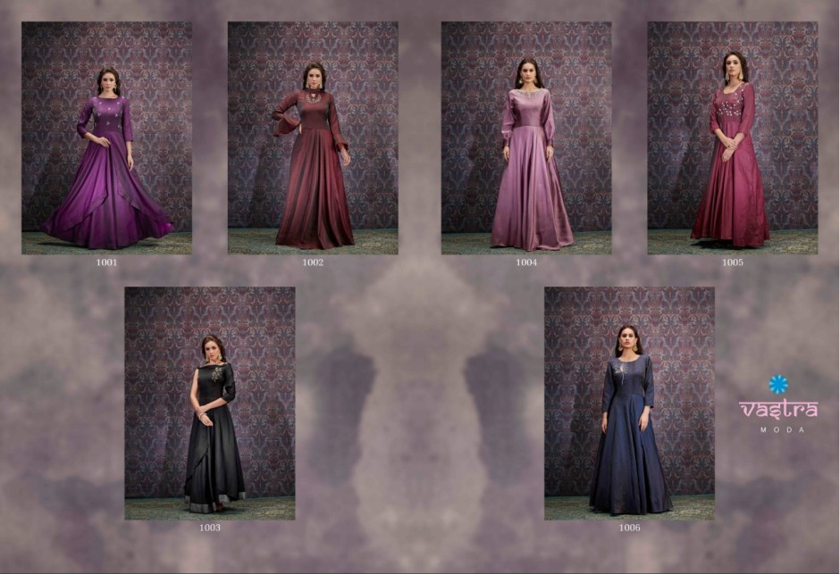 vastra moda feelings vol 1 fancy collection of gowns catalog at reasonable rate