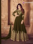 aashirwad creation riona gold fancy designer collection of outfits