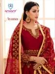 Arihant designer ayana embroidered salwar kameez catalog