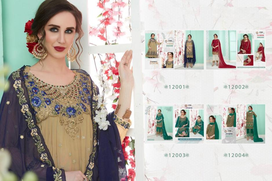 Cyra fashion jasmine eid collection karachi salwar kameez collection