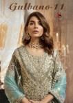 Deepsy suits gubano vol 11 heavy embroidered georgette salwar kameez collection