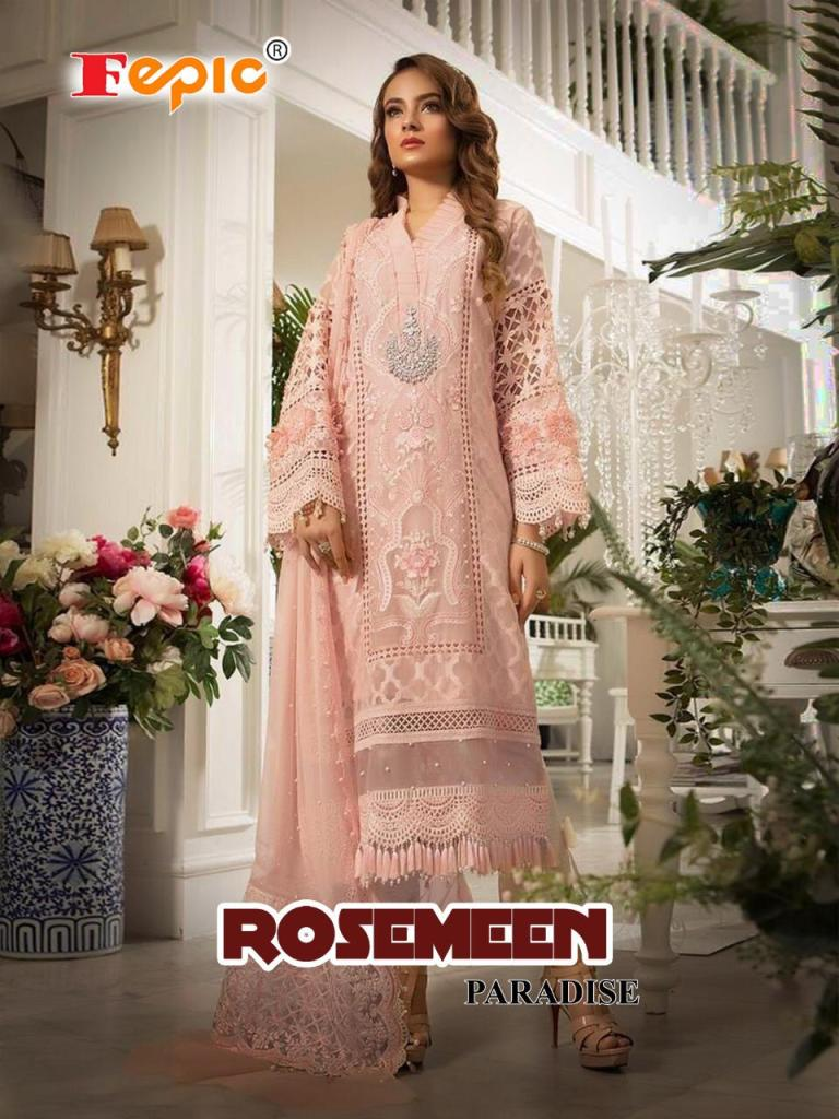 fepic rosemeen paradise colorful fancy collection of salwaar suits