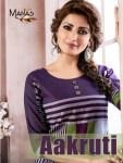 Manas aakruti handloom cotton  fancy kurties collection