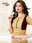 manas meera fancy ready to wear kurtis at reasonable rate
