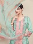 Rivaa exports wajood 6 pure cotton digital printed salwar kameez collection