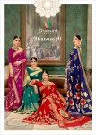 shakunt weaves bhanumati colorful fancy collection of sarees