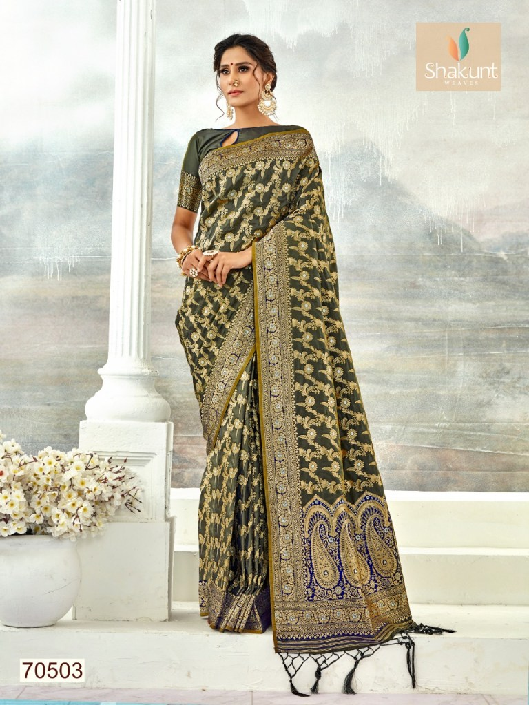 Shakunt weaves sejal Traditional silk saree collection