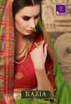 shangrila razia vol 2 colorful fancy collection of sarees at reasonable rate