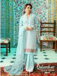 Shree fabs qalamkar special edition cotton embroidered salwar kameez collection