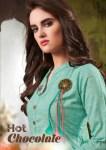 Sweety fashion hot chocolate rayon fancy designer kurti collection