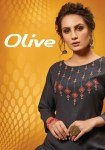 Sweety fashion olive kurties with plazzo and sharrara collection dealer