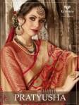 Triveni presents pratyusha beautiful indian sarees collection
