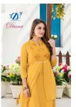 tzu life diana colorful fancy collection of kurtis at reasonable rate