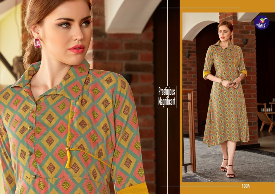 vitara fashion nivisa fancy ready to wear kurtis at reasonable rate
