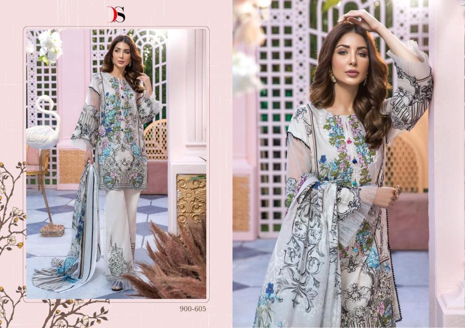 Deepsy suits firdous vol 2 cotton karachi printed salwar kameez collection