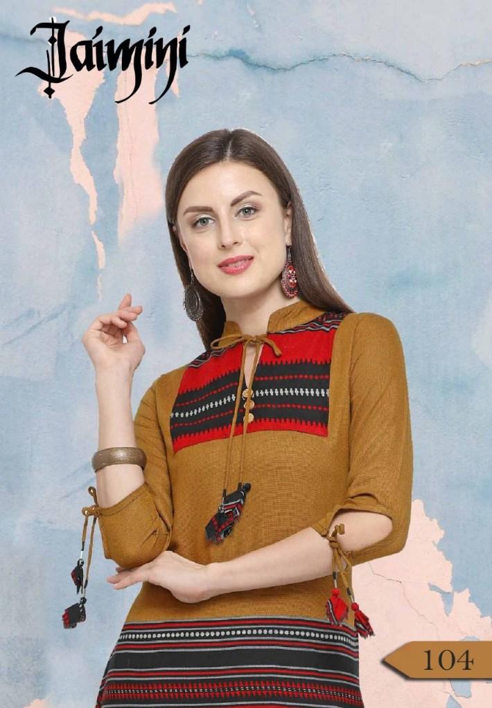 Jaimini sakhi vol 1 casual wear kurties wholesaler