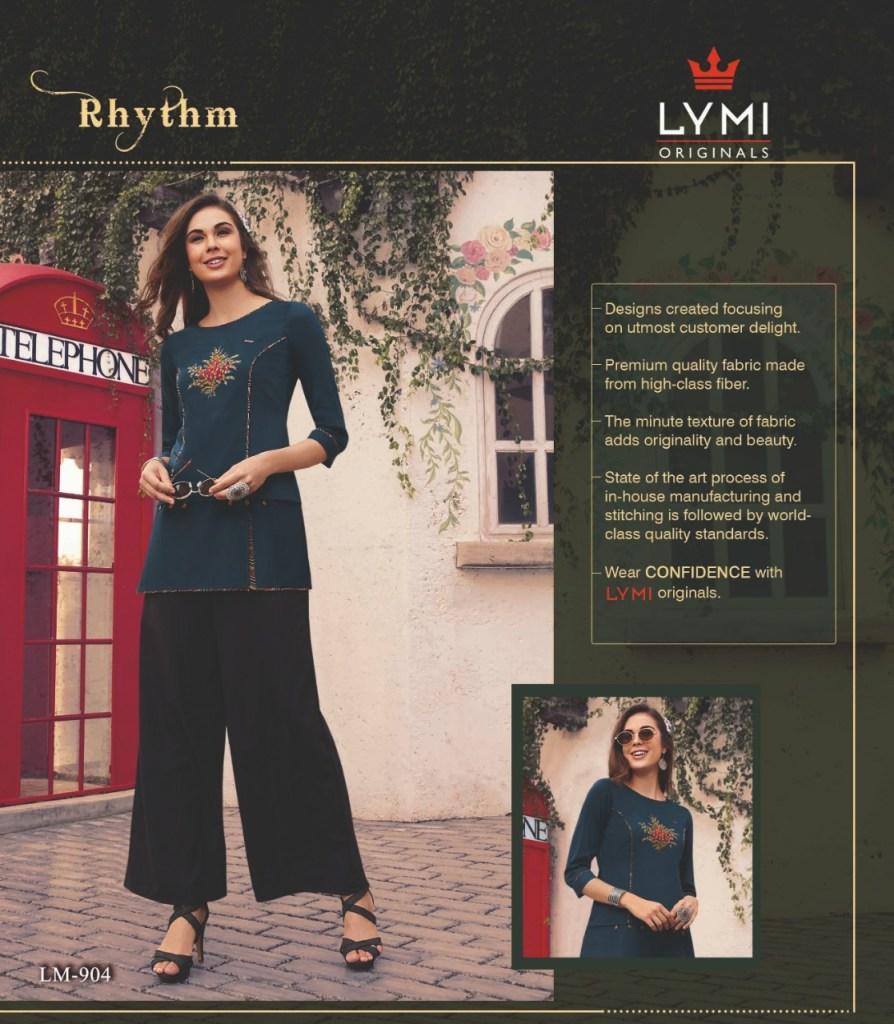 Lymi originals rhythm short top summer wear collection