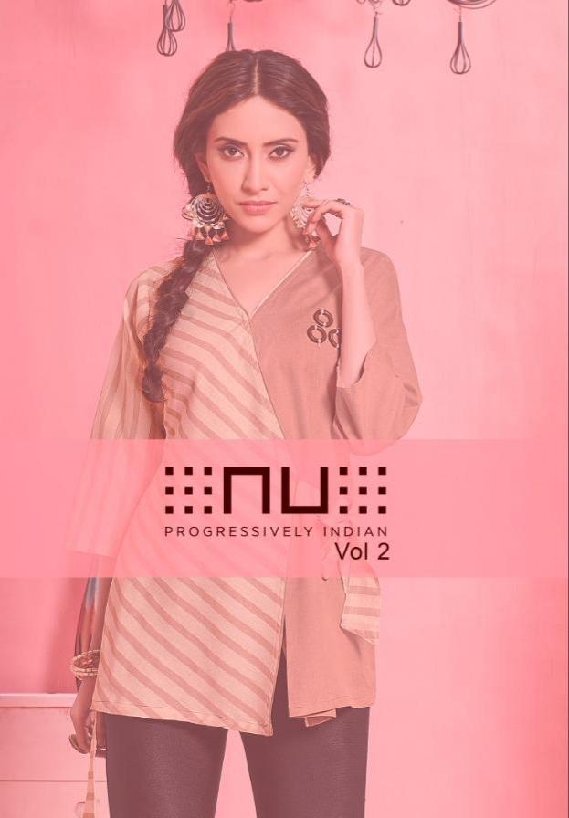 Nitara nu vol 2 Designer rayon printed kurties collection