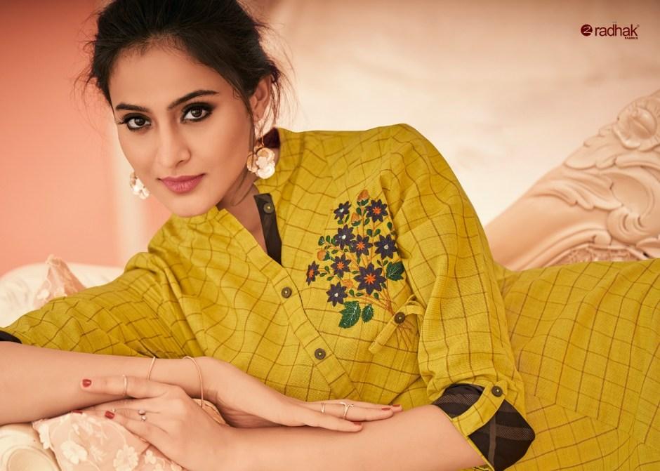 Radhak rukmee vol 9 Designer party wear kurties collection