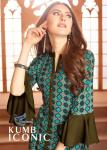 Seriema Iconic rayon kurti with plazzo mesmerizing collection