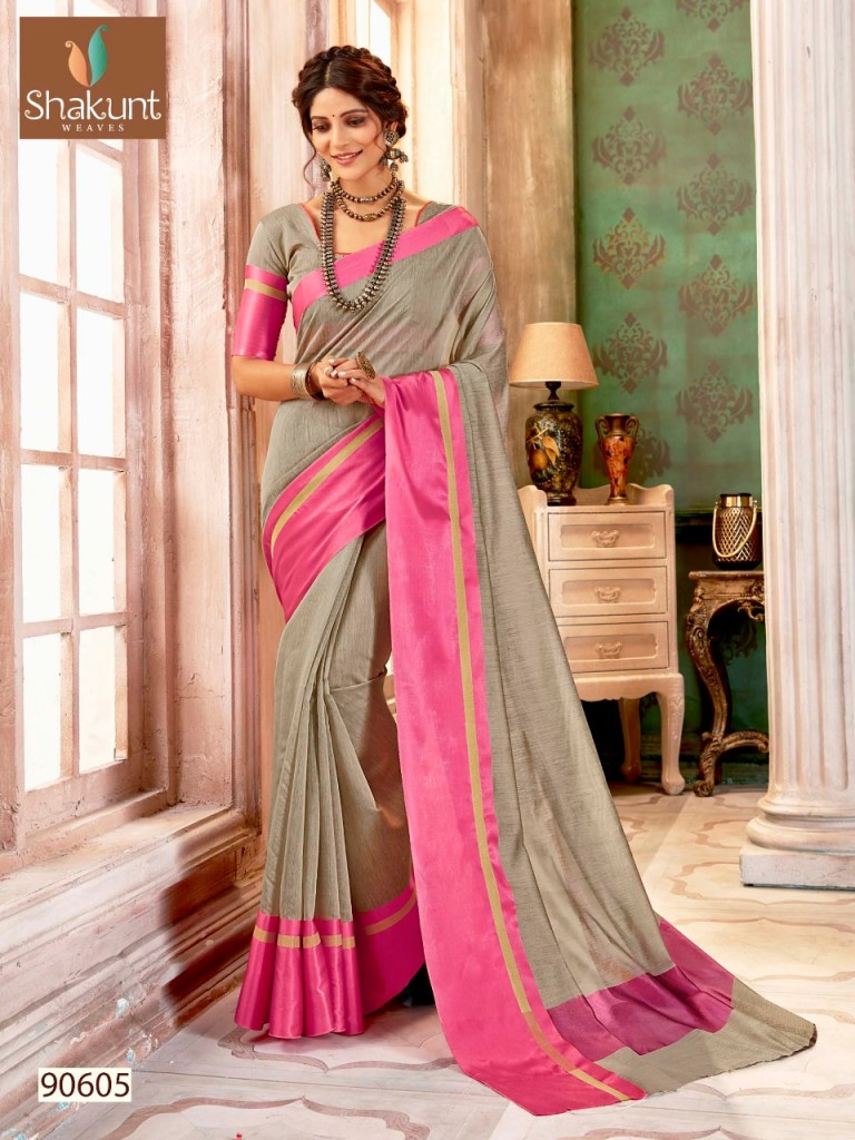 Shakunt weaves harsha beautiful sarees collection at wholesale rate
